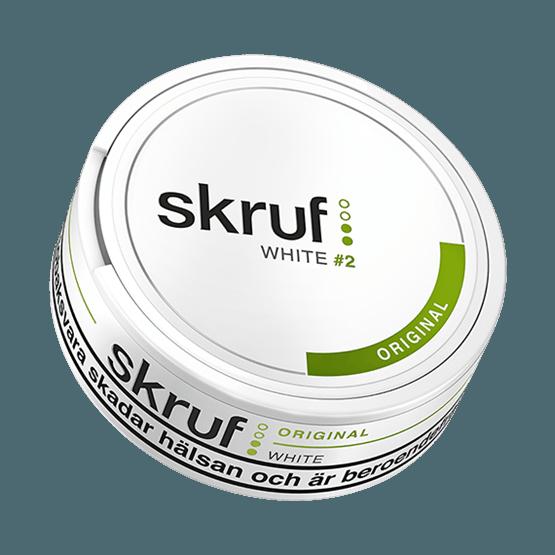 Skruf Original White Portion