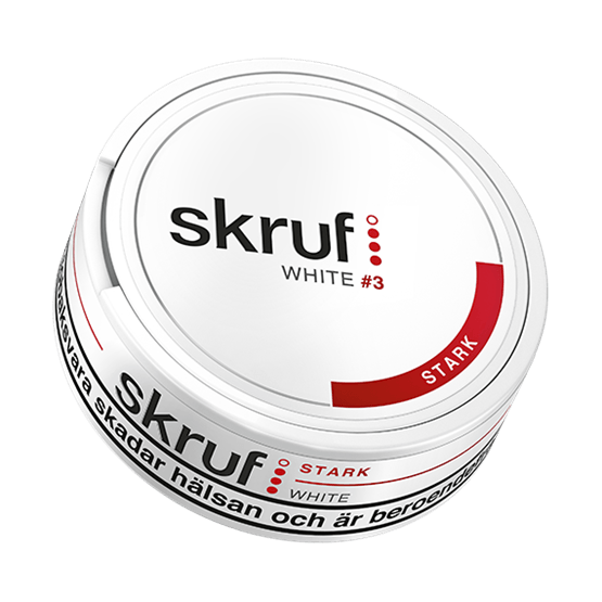 Skruf Strong White