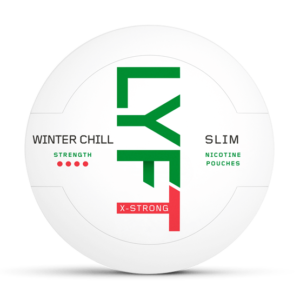 LYFT Winter chill slim all white portion