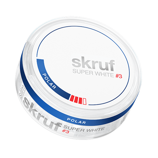 Skruf Super White Slim Polar #3