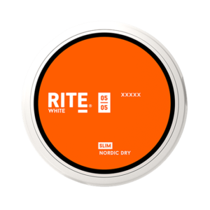 Rite Nordic Dry Slim White Portion