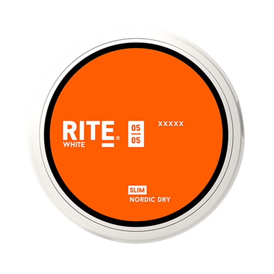 Rite Nordic Dry Slim White Portion