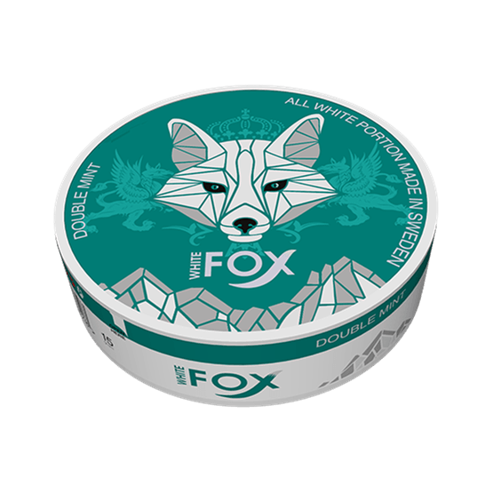 White fox double mint slim all white