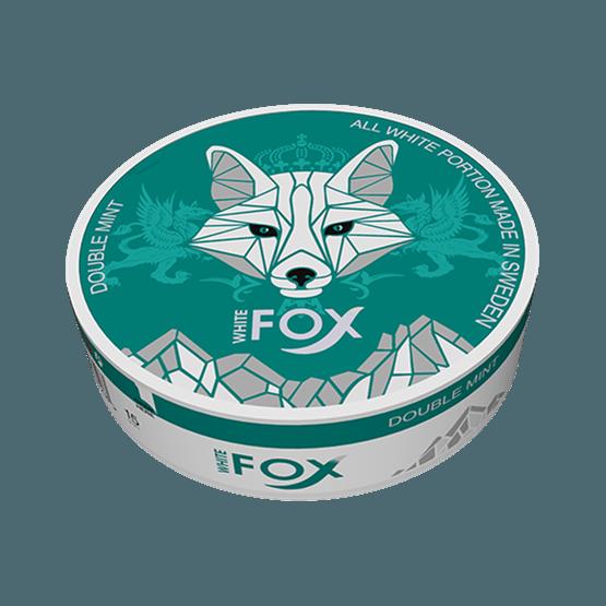 White fox double mint slim all white