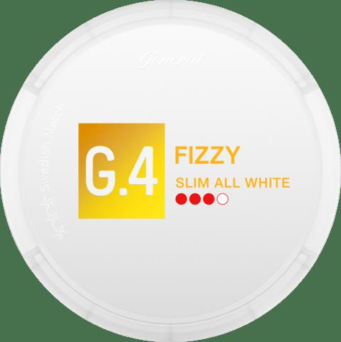 G.4 Fizzy Slim All White Portion