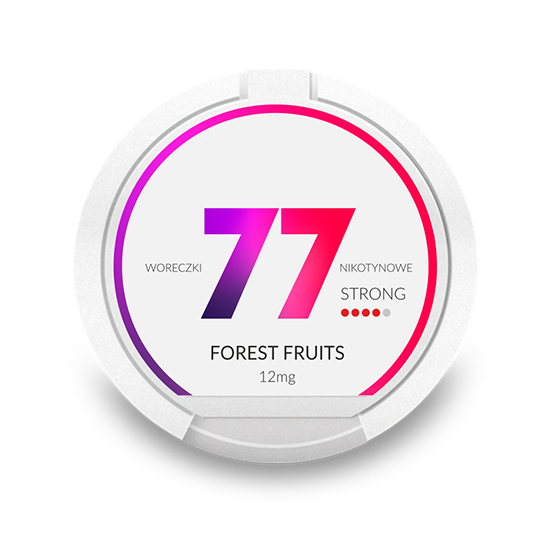 77 Forest fruits 12 mg
