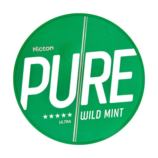 Pure By Nicton Wild Mint Extra Strong