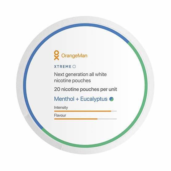 OrangeMan Menthol Eucalyptus - Xtreme