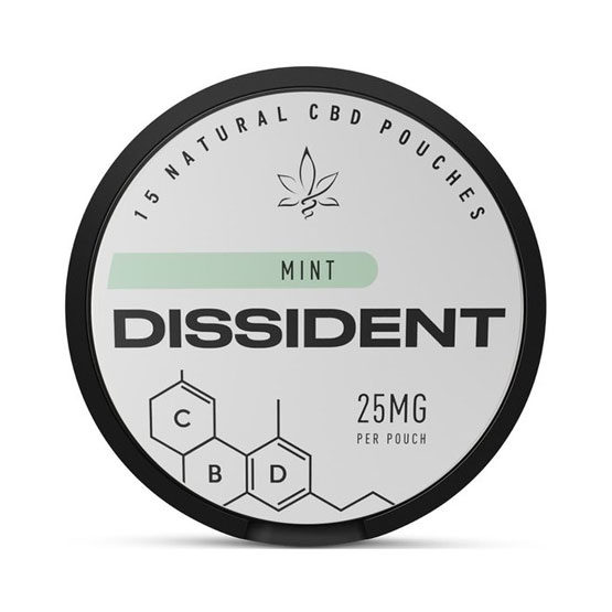 DISSIDENT CBD 25mg Mint Slim Portion